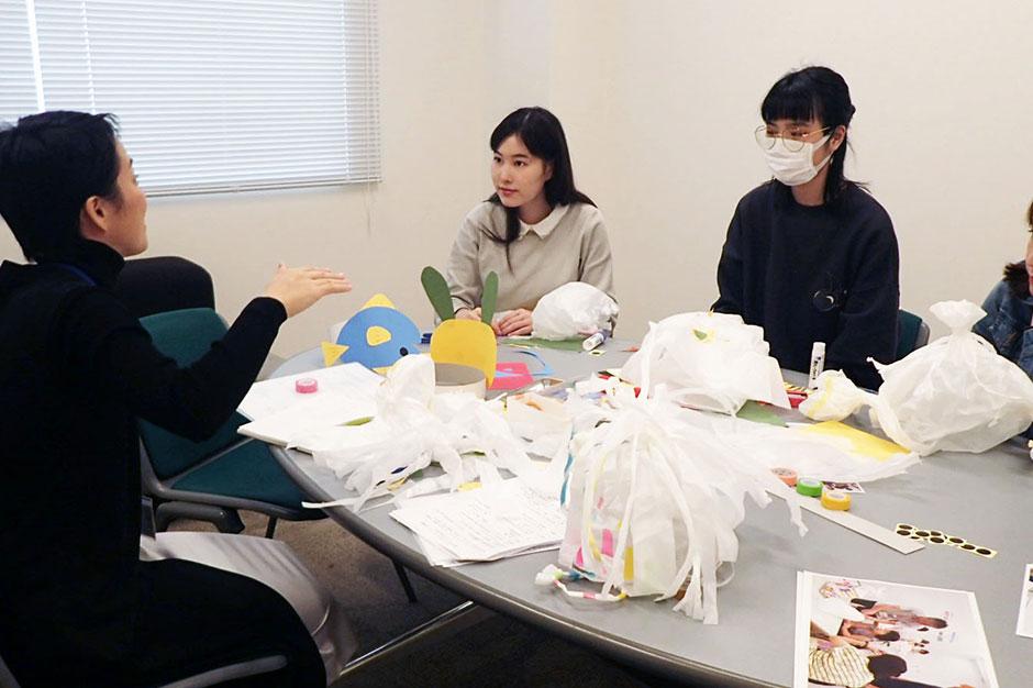 画像:子ども向け事業 企画会議の様子