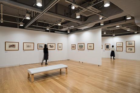 「画像:コレクション展2018 写真と素描でたどる横浜 1950-1980年代を中心に」会場風景 photo:Ken KATO