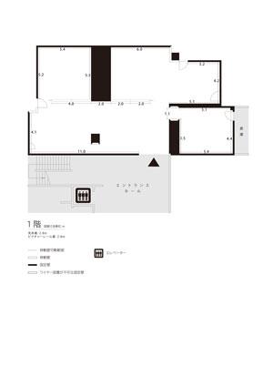 1階展示室平面図