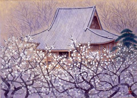 春光(三溪園燈明寺本堂)
