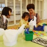 親子向けワークショップ「アート・ハット」