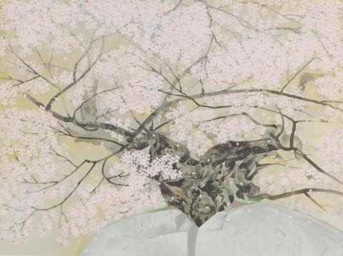中島千波「石割桜」_021A_トリミング小