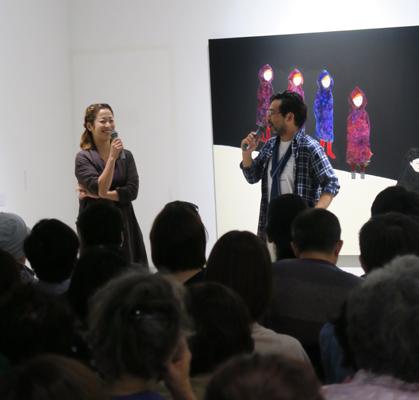 田中さんと林さんのトーク