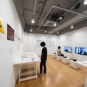 「横浜市民ギャラリーコレクション展2019 昭和後期の現代美術 1964-1989」作家インタビュー、資料コーナー