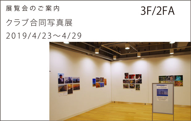 今週の展覧会3F/2FA