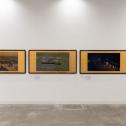 「横浜市民ギャラリーコレクション展2020 うつし、描かれた港と水辺」特別展示 牛田雞村の描いた横浜-開港期の風景 展示風景 photo:Ken KATO