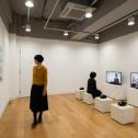 「横浜市民ギャラリーコレクション展2020 うつし、描かれた港と水辺」作家インタビュー、資料コーナー photo:Ken KATO